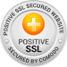 Secured with Positive SSL